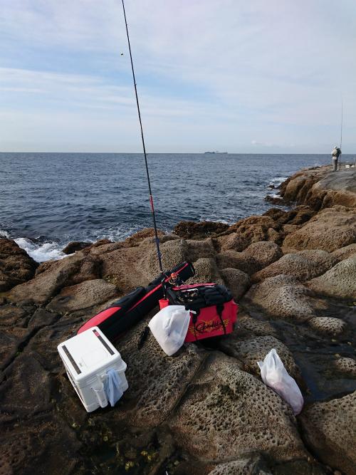 能瀬本島の釣り座