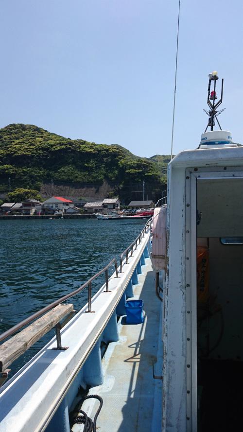 【釣行計画書あり】ゴールデンウィークは五島 島山島に釣行しました!